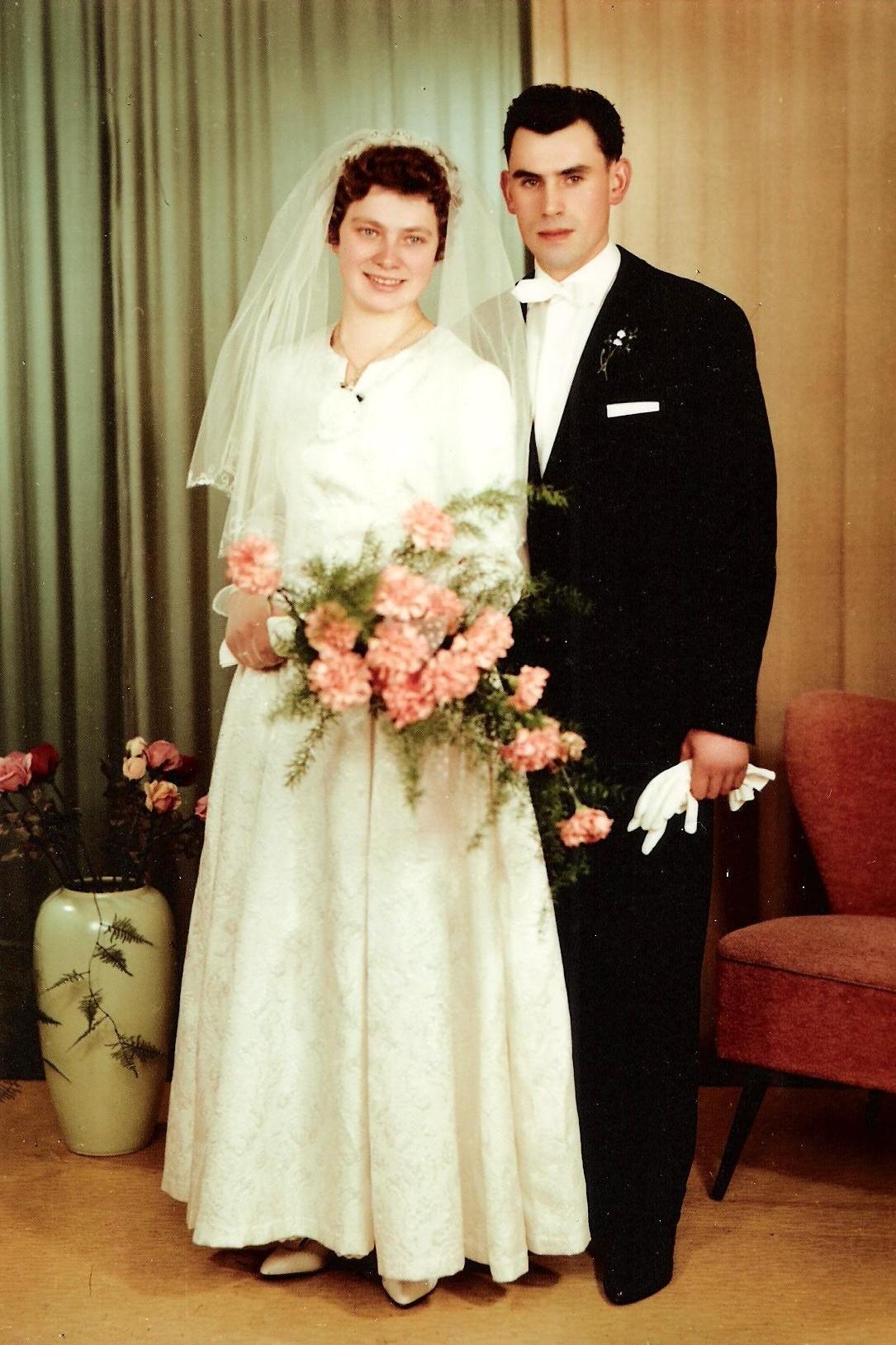 Hochzeit Inge und willi Schneider