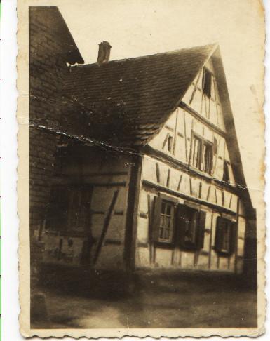 Haus von Müller, ca. 1940, Kirchgasse, Storchengasse 24