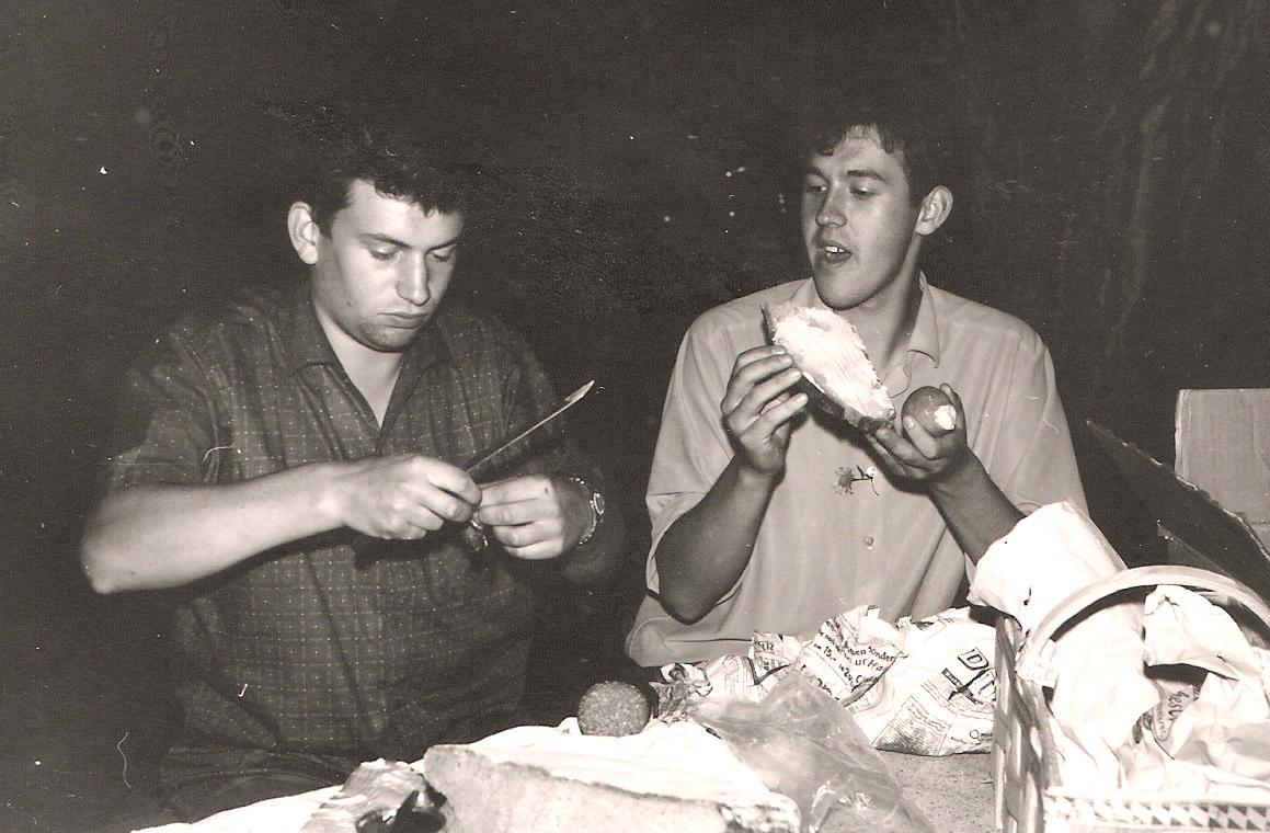 Eugen Schneider und Erich Niederreuther