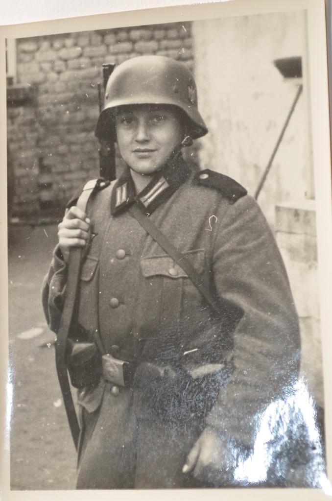 Günter Stadler mit 13 Jahren, 1939, Jahrgang 1926