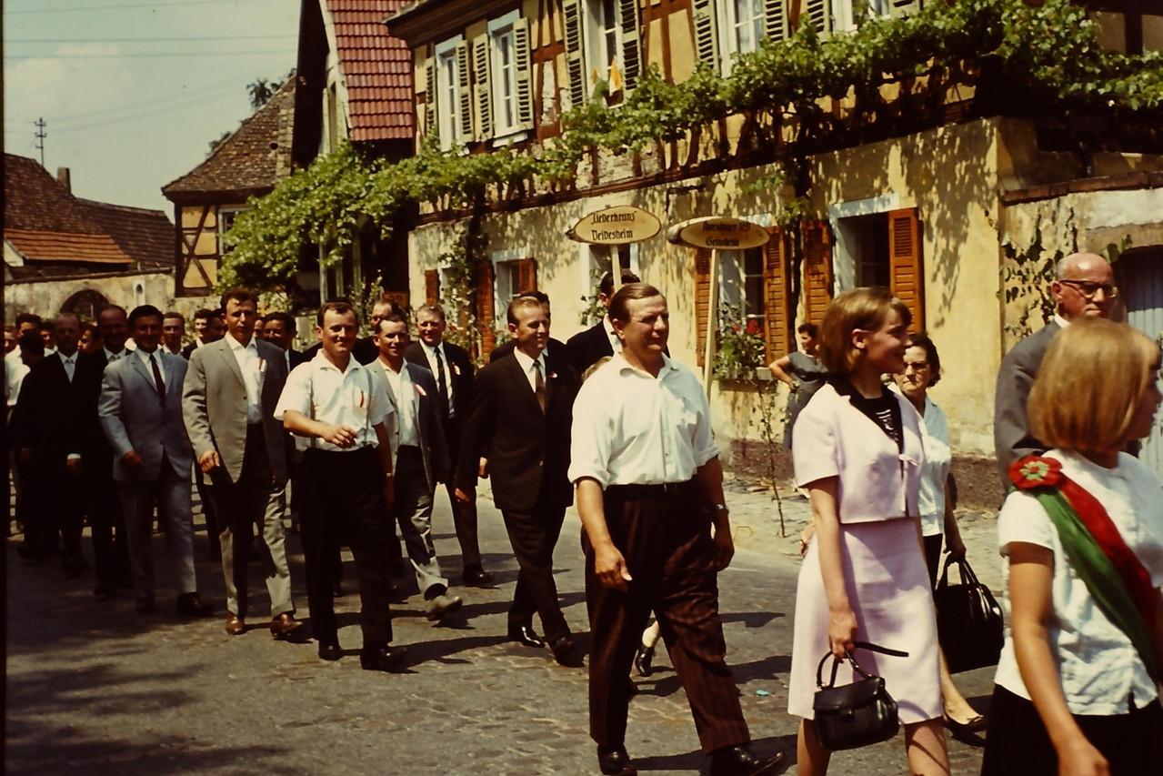 Festumzug zum 175jährigen Jubiläum 1966