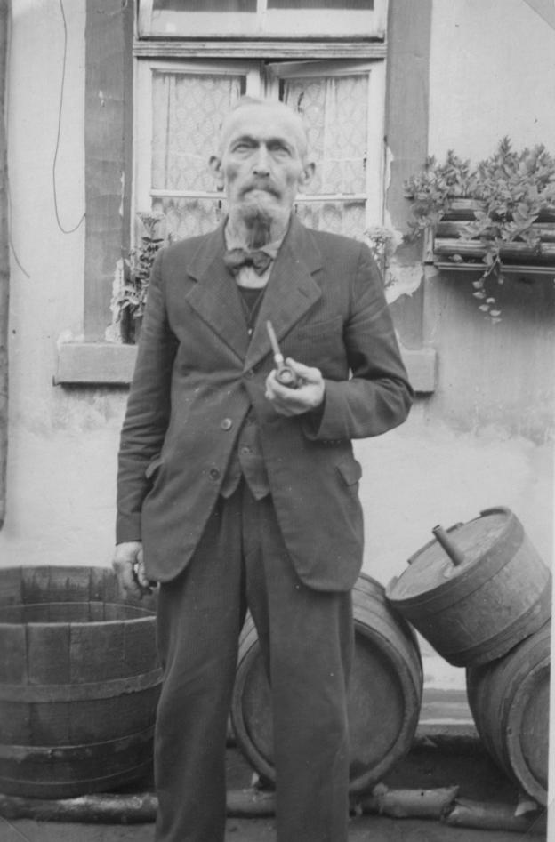 Jofef Funk, Polizei- und Gemeindediener in Geinsheim ab 1921