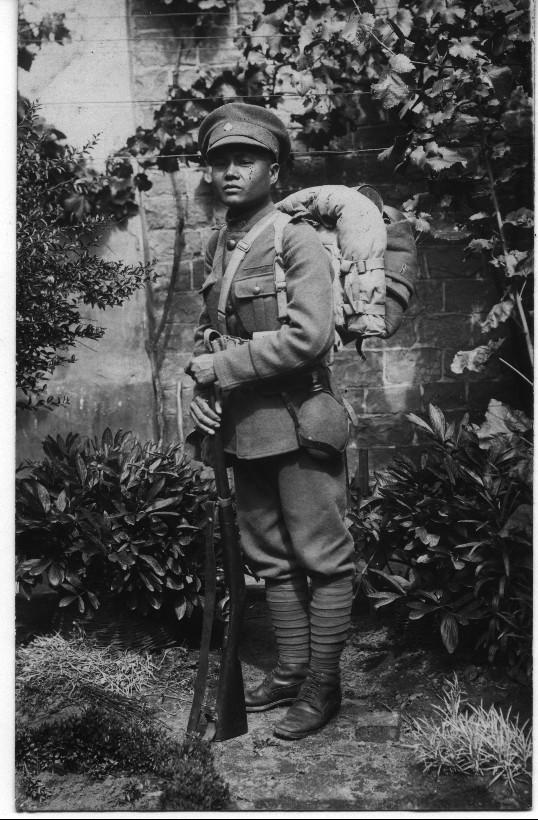 Siamesischer Soldat