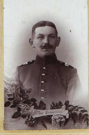 Adam Weber, vermisst 1914