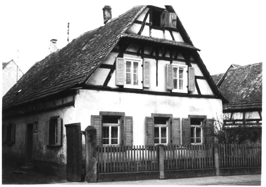 Haus von Jakob Peter Kästel, Gäustr. 36