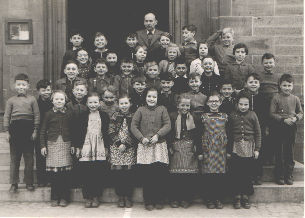 Geburtsjahrgang Norbert Stahler mit Lehrer Kohl