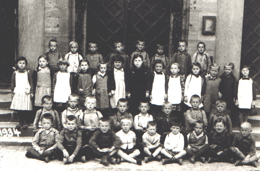 Klassenbild von 1934