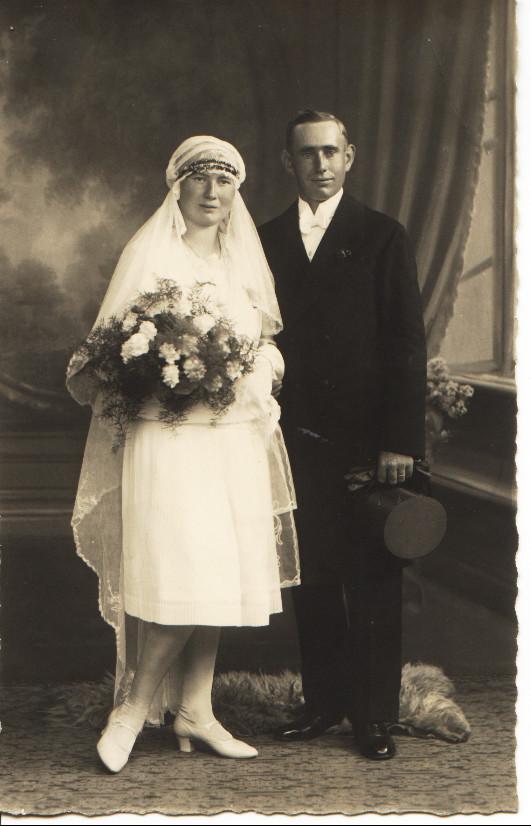 Ehepaar Kästel Emil und Elsa geb. Schneider; Vater von Pirmin und Hugo