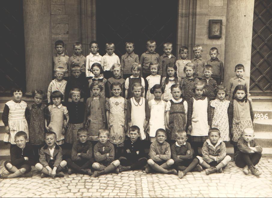 Geburtsjahrgang ca. 1930, Klassenbild von 1936