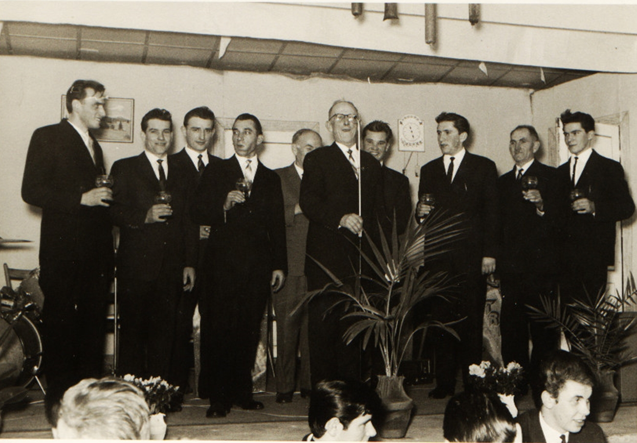 Sängerehrung des MGV 1962