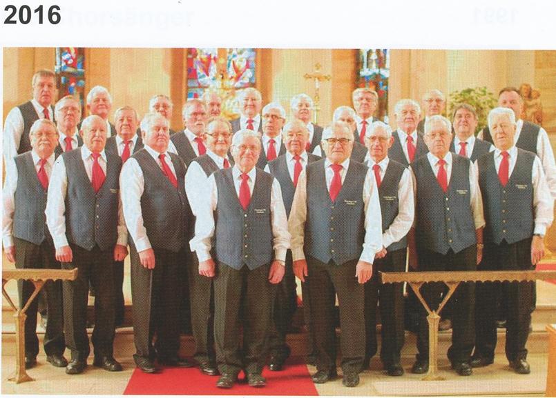 Konzert der Chorsänger 2016