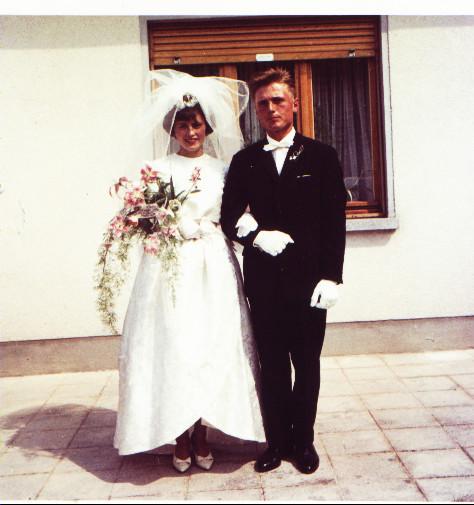 Ehepaar Kästel Walter und Ilse geb. Erbach (Otterstadt)