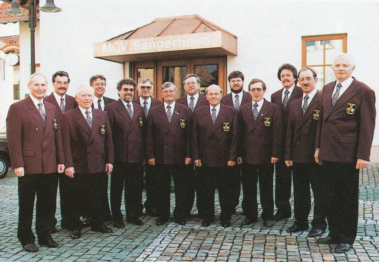 Die Vorstandschaft im 125. Jubiläumsjahr 1993