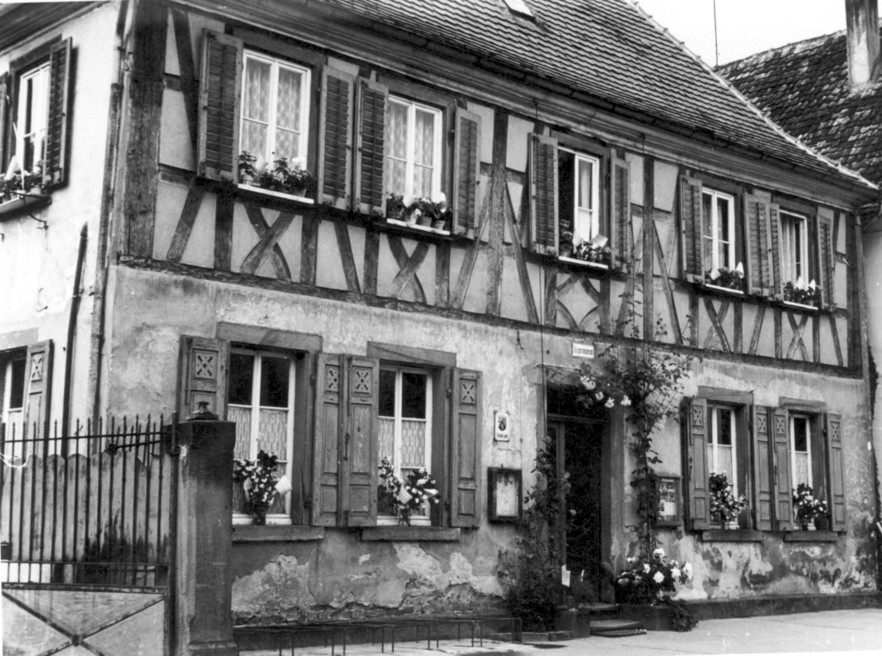 Haus Geither Thirolf als Bürgermeisteramt, ab 1955, 1972 abgerissen