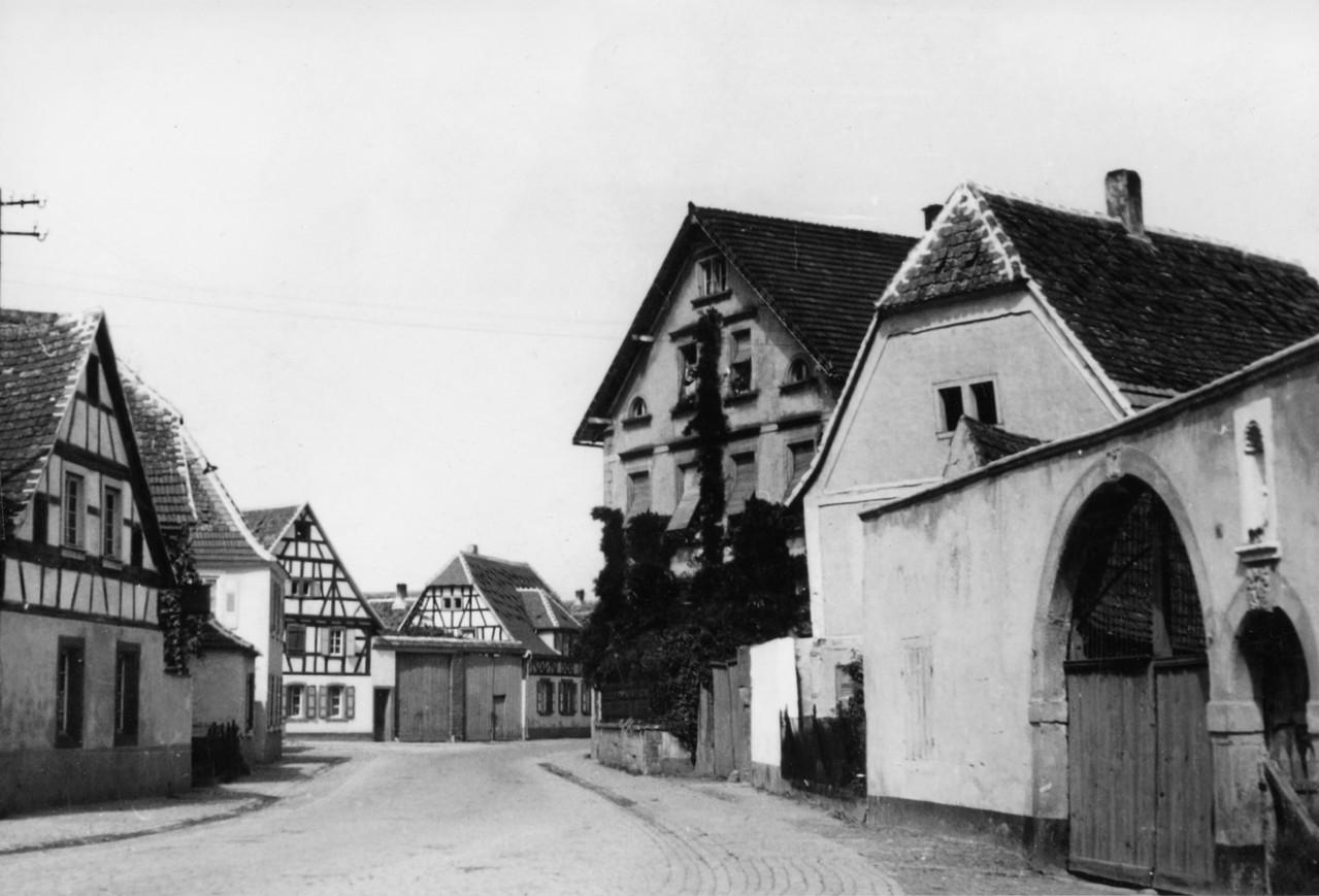 Sicht auf Gasthaus Hirsch, Böhlgasse