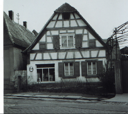 Haus Schaaf, ca. 1950, Gäustraße 43