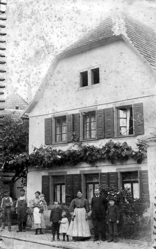 Haus von Gemeindeschreiber Kästel, Gäustraße 89