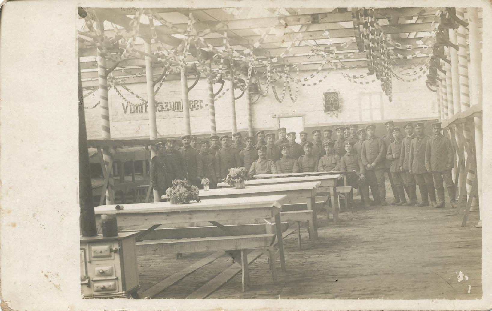Soldaten im I. Weltkrieg