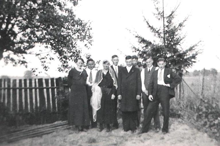 Hochzeit Karl und Katharina Schneider(geb. Kästel)