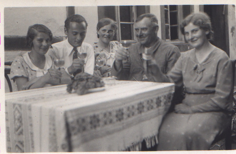 Ludwig Steinmetz und Töchter