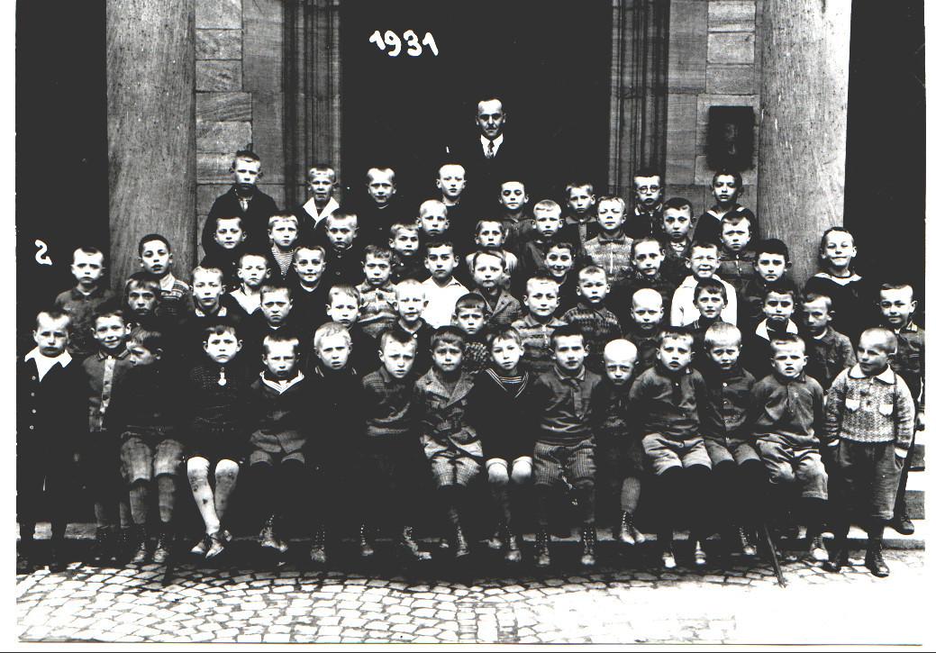 Geburtsjahrgang ca. 1925, Klassenbild von 1931