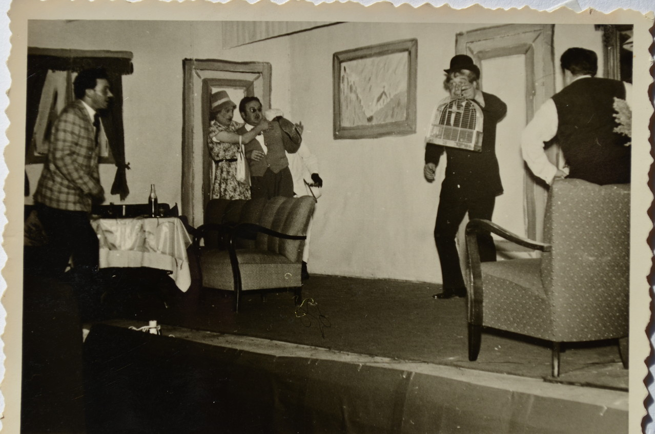 "Theatergruppe 1956 (""Sansibar"") mit Günter Stadler"
