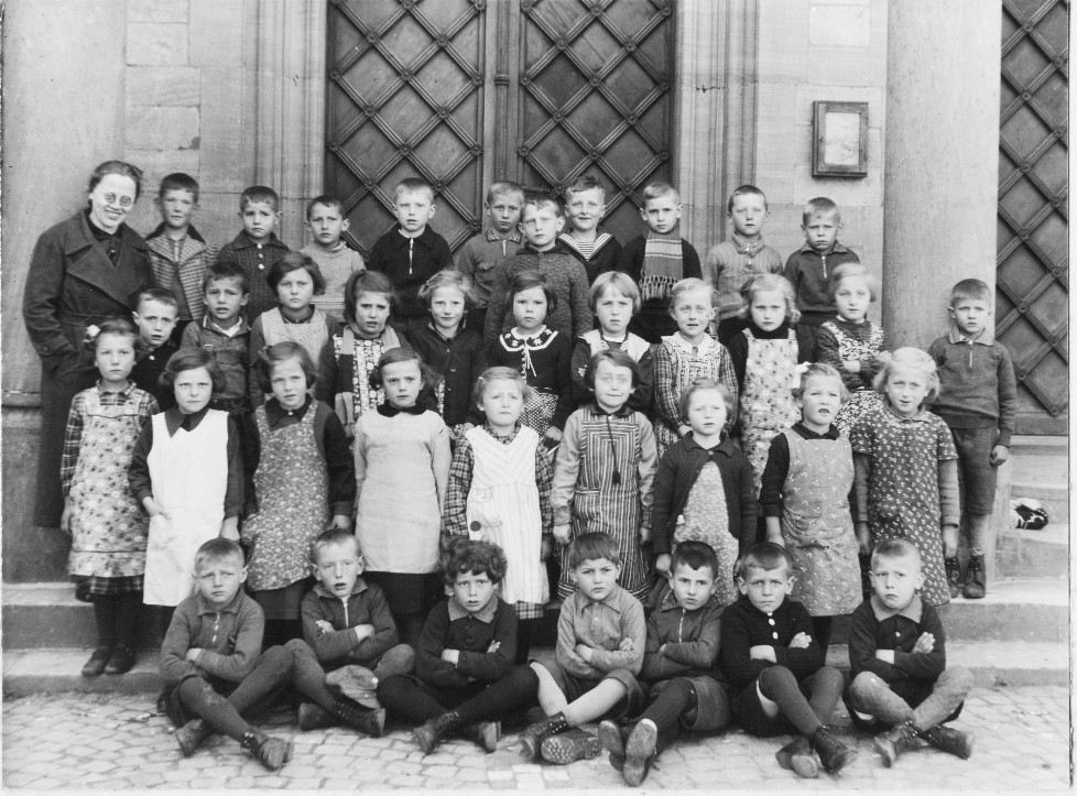 Geburtsjahrgang 193???, Klassenbild von 1938 ??