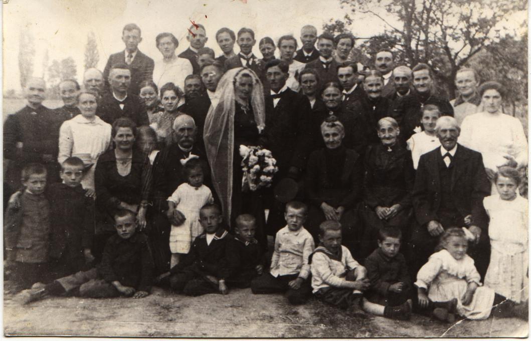 Hochzeit Elise Kästel und Emil Bender, 1920