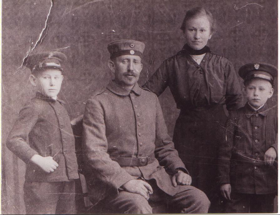 Philipp Kästel und Familie