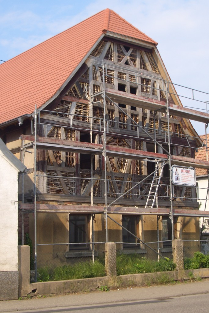 Renovierung Fachwerk Gäustraße