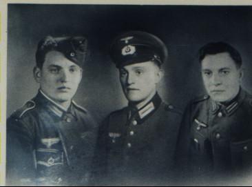 Ludwig, Hermann und Otmar Sommer v.l.