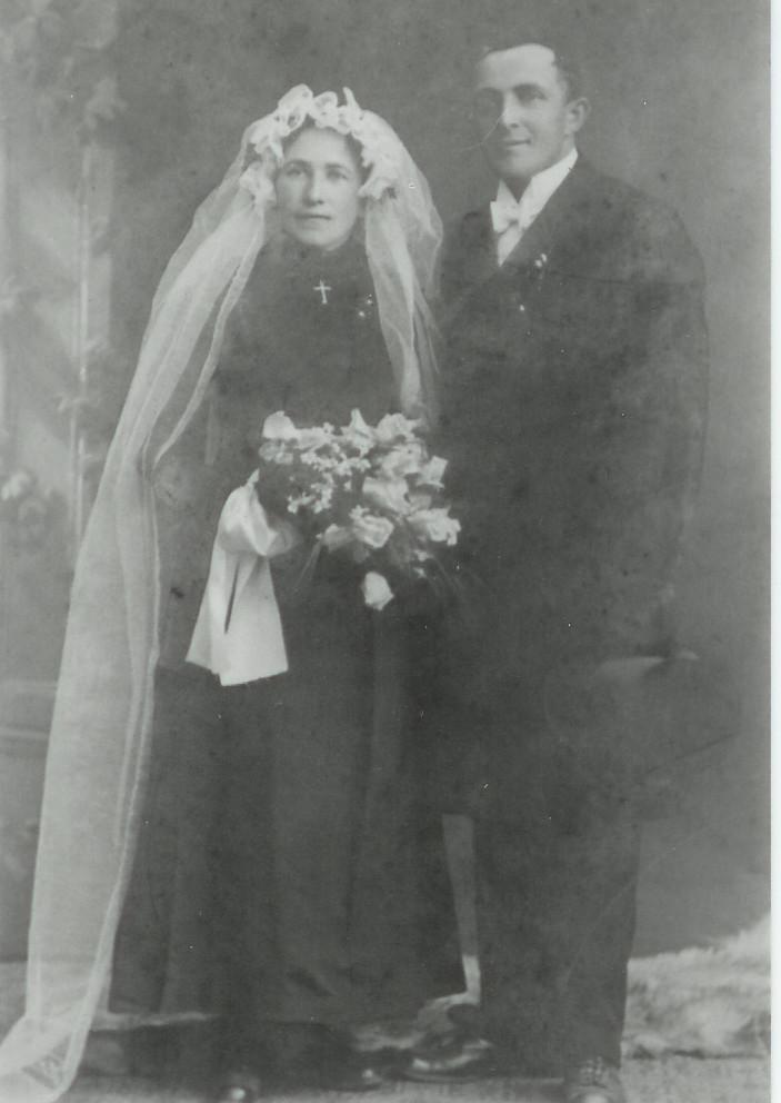 Ehepaar Nebel Anton undBarbara geb. Bender