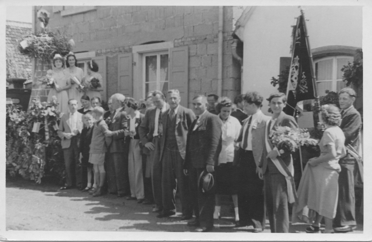 Festumzug beim 160jährigen Jubiläum der Chorsänger 1951