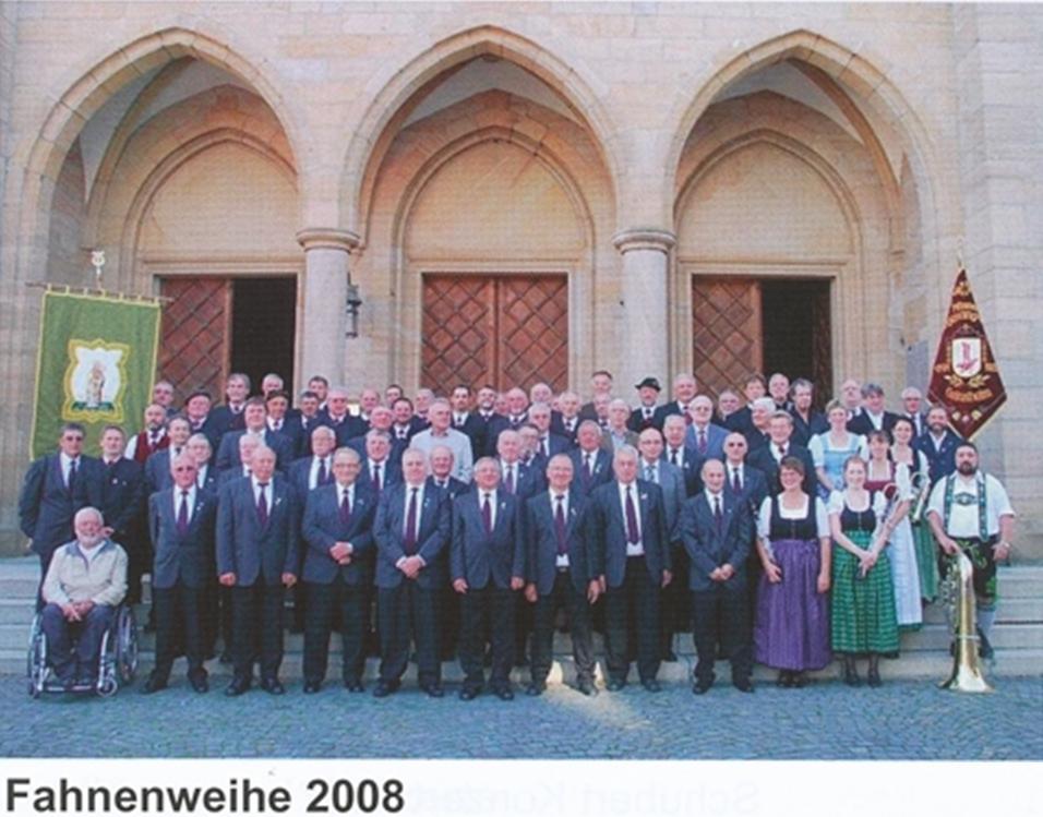 Fahnenweihe 2008