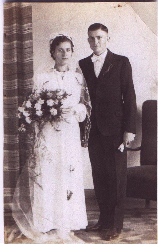 Ehepaar Kästel Heinrich und Maria geb. Mönig (Dudenhofen)