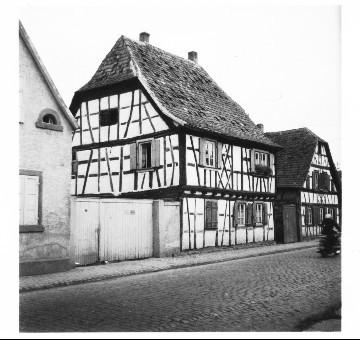 Fachwerkhäuser Appel, Kästel, 1955, Gäustraße 66
