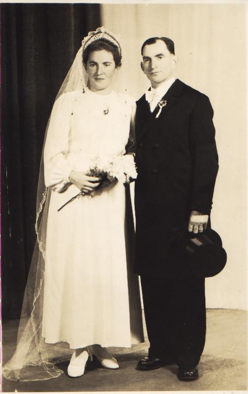 Ehepaar Kästel Karl III (Bildhäusler) und Anna geb. Rutz