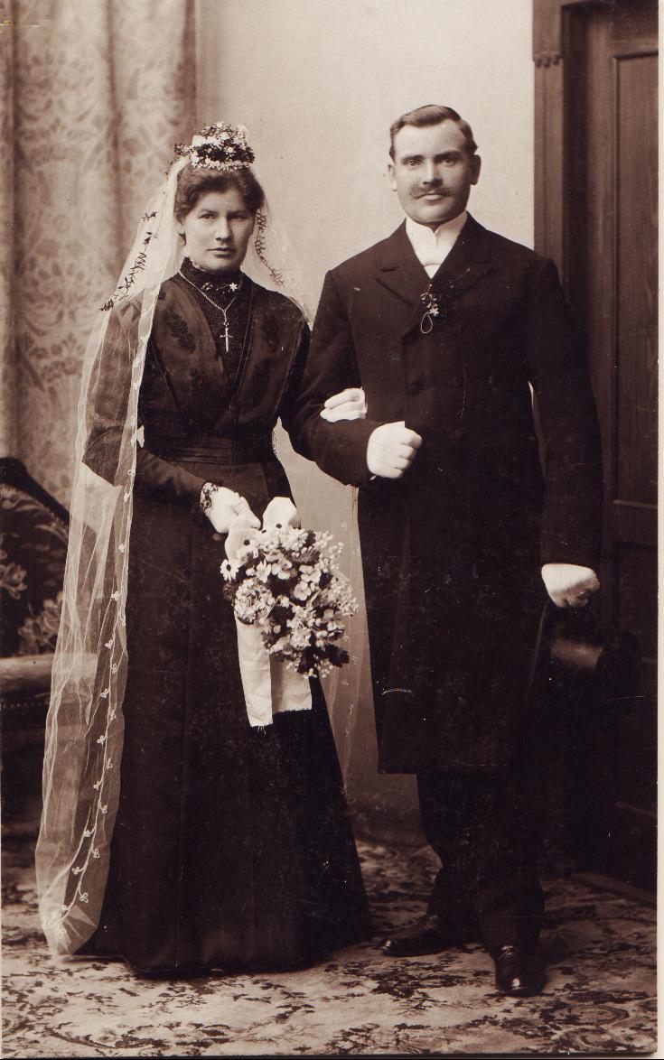 Ludwig Steinmetz Hochzeit 1910