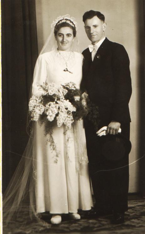 Ehepaar Steinmetz Alfons und Maria geb. Schneider