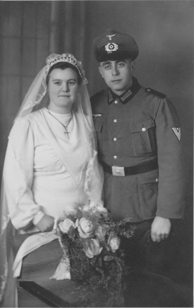 Ehepaar Geörg Karl und Hedwig geb. Schaaf;
