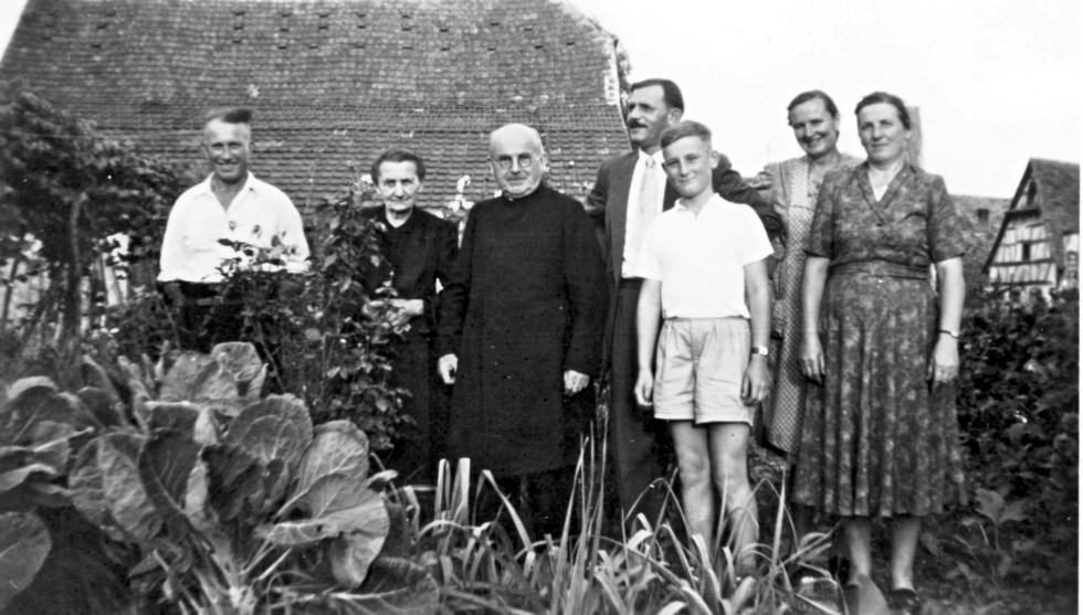 Pfarrer Franz und Familie Hoffmann - Schilling