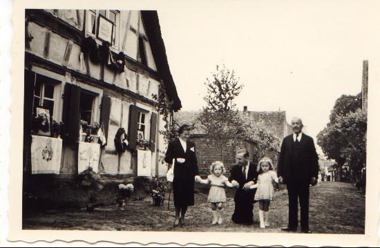 Hintergasse Haus Müller, 1954, Storchengasse 24