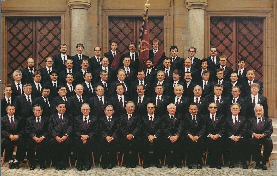 Jubiläumsbild zum 200. Stiftungsjahr 1991