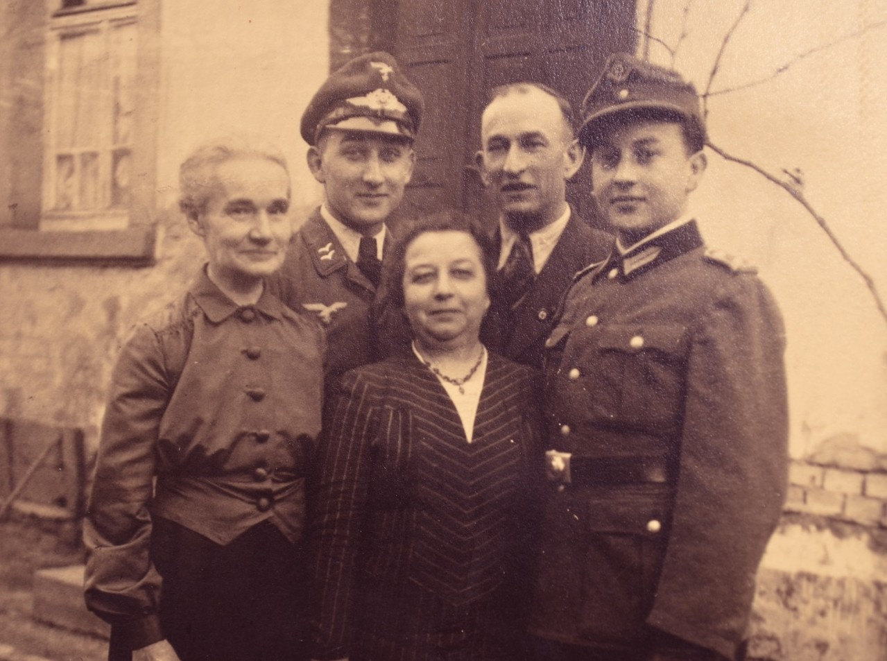 Familie Arthur Stadler mit Tante
