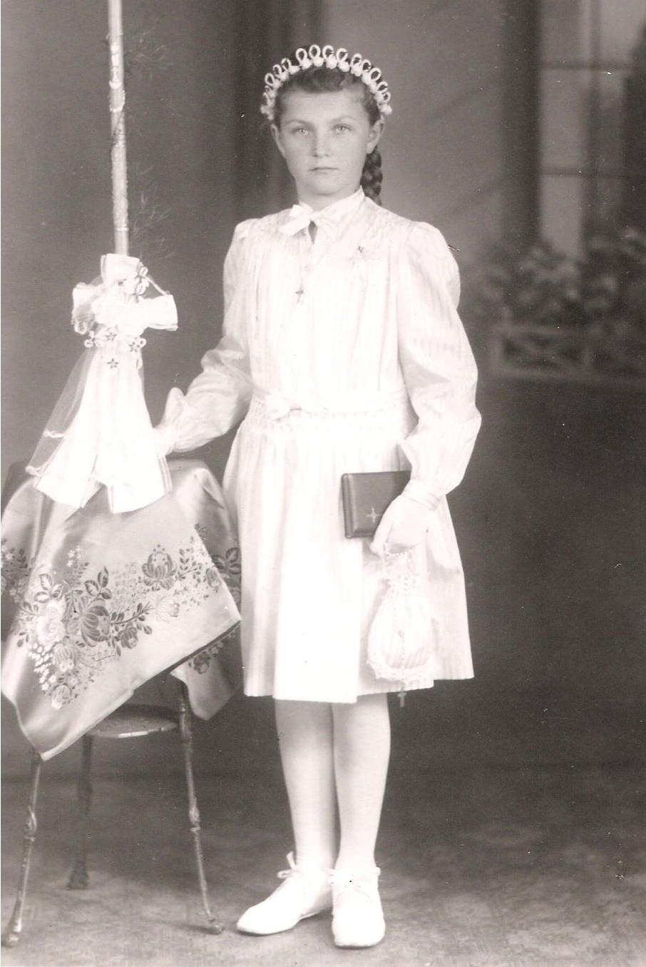 Gertrud Geiger, Schwester von Inge Schneider