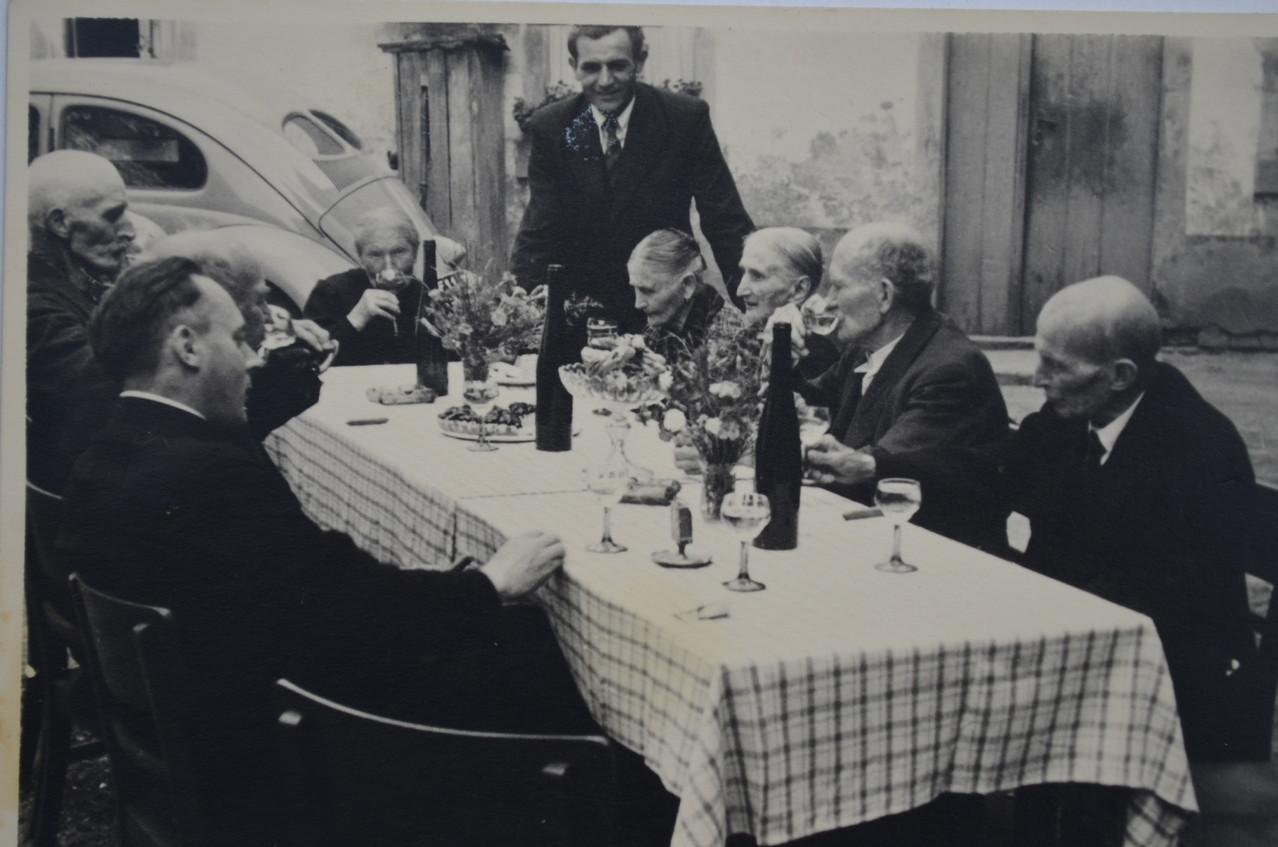 Altennachmittag mit Bürgermeister Karl Ramsel und Pfarrer Ignaz Rieder,