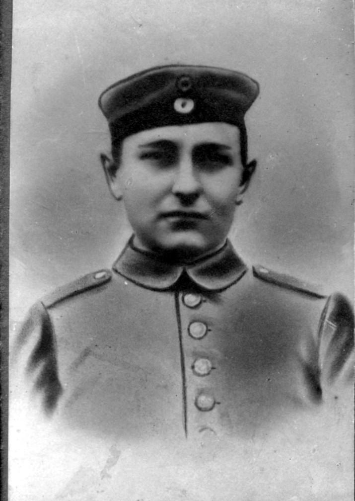 Oskar Appel, gefallen 1915