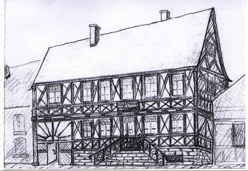 Gasthaus zum Schwanen, Fachwerkhaus aus 1798, 1903 durch Steinhaus ersetzt