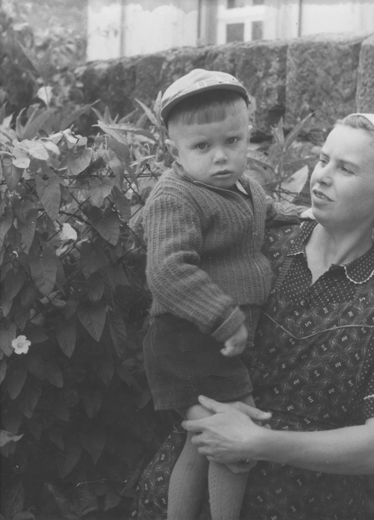 Alfons Kohlmann mit Mutter