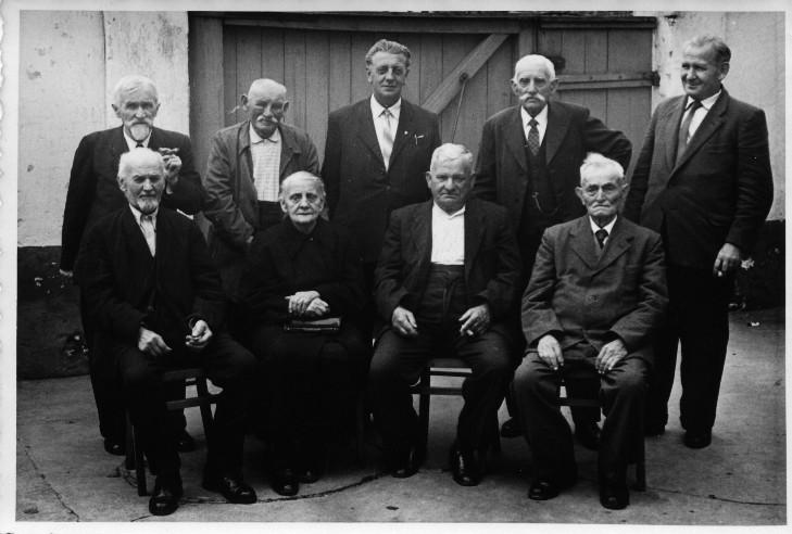 Altennachmittag u.a. mit 1. Bürgermeister Alfons Manger und Amtmann Karl Henrich